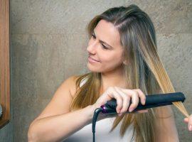 Salona Professional 1″ Titanium Flat Iron Hair Straightener Review