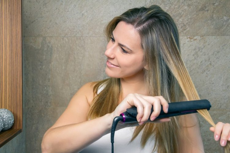 Salona Professional 1 Titanium Flat Iron Hair Straightener